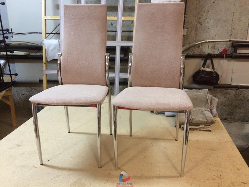Перетяжка стульев кожзамом своими руками мастер класс 97